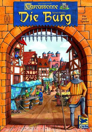 Carcassonne - Die Burg spielen, Spielanleitung
