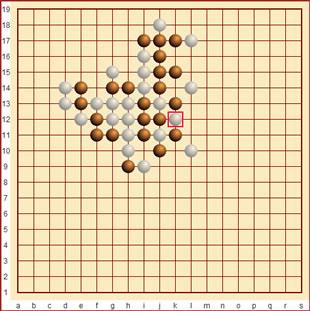 Go-moku Spiel
