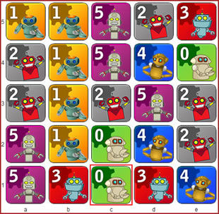 Robot+master Spiel
