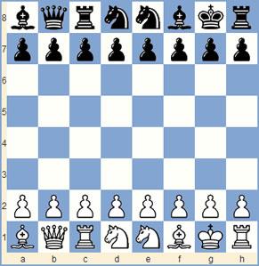 Chess960 spielen, Spielanleitung