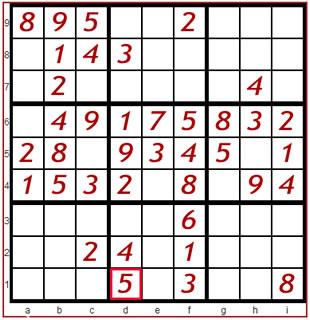 Sudoku Spiel